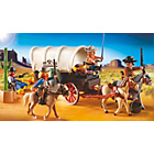 more details on Playmobil 5248 Covered Wagon with Raiders.