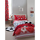 more details on Football Red Duvet Cover Set - Single.