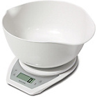 more details on Salter Aquatronic Kitchen Scale and Bowl - White.