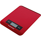 more details on Morphy Richards Accents Electronic Kitchen Scale - Red.