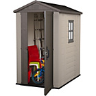 Keter Apex Plastic Garden Shed - 6 x 4ft.