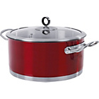 more details on Morphy Richards Accents 24cm Casserole Dish - Red.