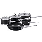 more details on Morphy Richards Accents 5 Piece Pan Set - Black.