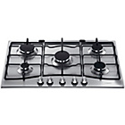 more details on Hotpoint GC750X 75cm Gas Hob - Stainless Steel.
