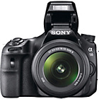 more details on Sony SLTA58K 20.1MP DSLR Camera - Black.