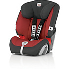 more details on Britax Evolva Group 1-2-3 Plus Car Seat - Chilli Pepper.