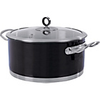 more details on Morphy Richards Accents 24cm Casserole Dish - Black.
