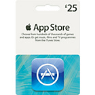 more details on iTunes Apps £25 Gift Card.
