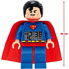 more details on LEGO Heroes Superman Figure Alarm Clock.