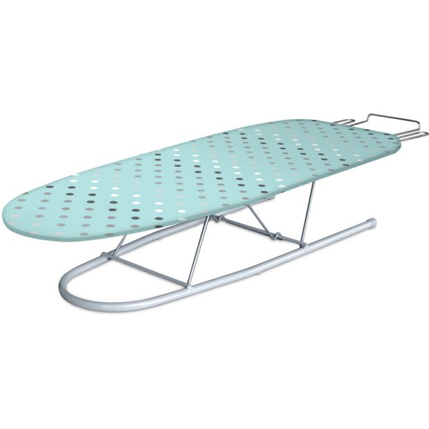 buy minky 79 x 29cm silver table top ironing board at. Black Bedroom Furniture Sets. Home Design Ideas