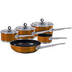 more details on Morphy Richards Accents 5 Piece Pan Set - Copper.