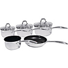 more details on Morphy Richards Pro Pour 5 Piece Pan Set - Stainless Steel.