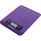 more details on Morphy Richards Accents Electronic Kitchen Scale - Plum.