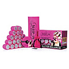 more details on Sleep In Rollers - Pink Glitter Set.