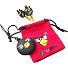 more details on Angry Birds Buds Headphone Set for Nintendo DSi/XL/3DS-Black