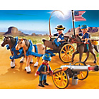 more details on Playmobil 5249 Horse-drawn Carriage with Cavalry Rider.