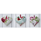 more details on Graham & Brown Hearts Canvas - Set of 3.