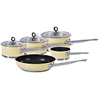 more details on Morphy Richards Accents 5 Piece Pan Set - Cream.
