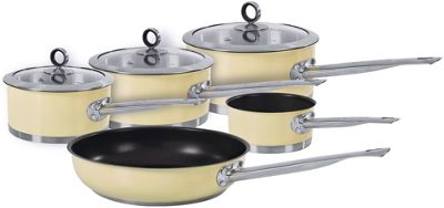 Morphy Richards Kitchen Set: Buy Morphy Richards Accents 5 Piece Pan Set