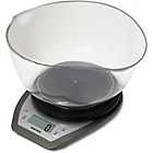 more details on Salter Aquatronic Kitchen Scale and Bowl - Silver.
