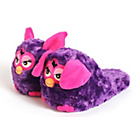 more details on Stompeez Girls' Purple Furby Slippers.