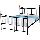 more details on Alderbury Double Bed Frame - Black.