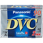 more details on Panasonic Mini DV Tape SP 60/LP 90 min - 2 Pack.