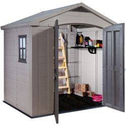 Keter Apex Plastic Garden Shed 8 x 6f