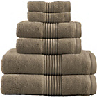 more details on Zero Twist 6 Piece Towel Bale - Mink.