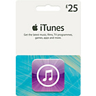 more details on iTunes £25 Gift Card.
