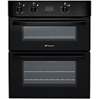 more details on Hotpoint UH53KS Under Counter Double Electric Oven - Black.