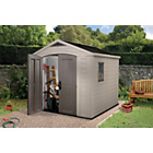 more details on Keter Apex Plastic Garden Shed - 8 x 8ft.
