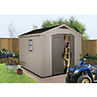 more details on Keter Apex Plastic Garden Shed - 8 x 11ft.