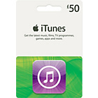 more details on iTunes £50 Gift Card.