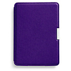 more details on Kindle Paperwhite Leather Cover - Purple.