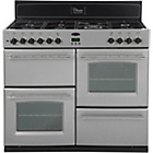 more details on Belling Classic 100GT Gas Range Cooker - Silver