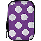more details on Compact Camera Case - Purple Polka Dot.