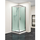 more details on Eliana Nerine 800mm Pivot Door Shower Cabin with Tray.