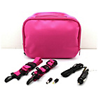 more details on 7 Inch Gadget Bag with Car Charger - Pink.
