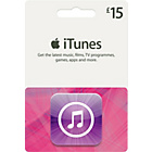 more details on iTunes £15 Gift Card.