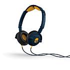 more details on Skullcandy S5LWFY Lowrider Headphones - Navy and Gold.