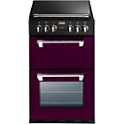 more details on Stoves Richmond 550DFW Dual Fuel Range Cooker- Wild Berry.