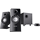 more details on Philips SPA4355 2.1 Multimedia Speakers - Black.