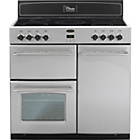 more details on Belling Classic 90E Electric Range Cooker - Silver