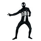 more details on Fancy Dress Black Spiderman 2nd Skin Costume - Large.