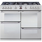 more details on Stoves Sterling R1000GT Gas Range Cooker - Stainless Steel