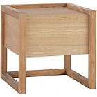 more details on Habitat Hana II Oak Bedside Table.