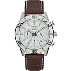 more details on Pulsar Men's Chronograph Brown Leather Strap Watch.