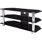 more details on Black Glass 50 Inch Rectangular TV Stand.