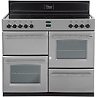more details on Belling Classic 100E Electric Range Cooker - Silver
